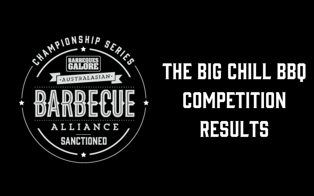 The Big Chill BBQ Competition – Results
