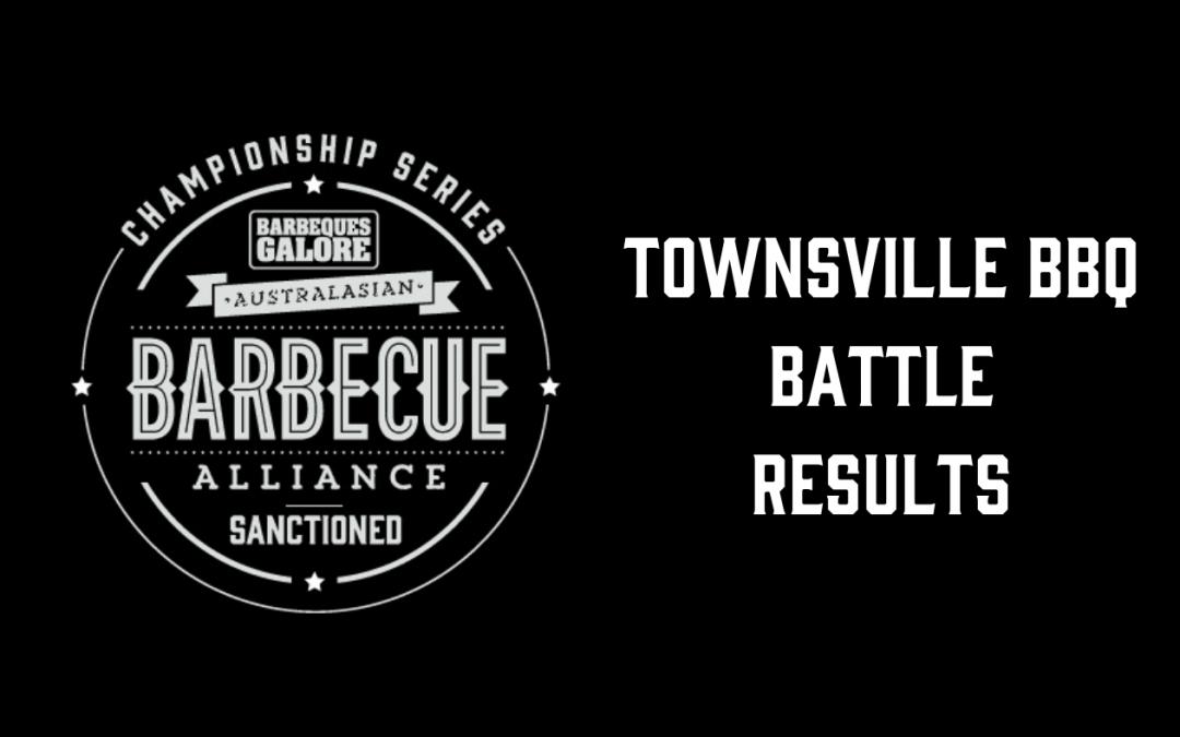 Townsville BBQ Battle – Results